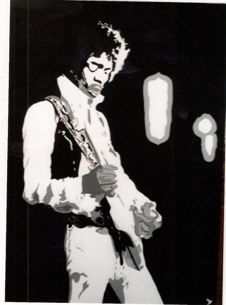 Jimi Hendrix par @do